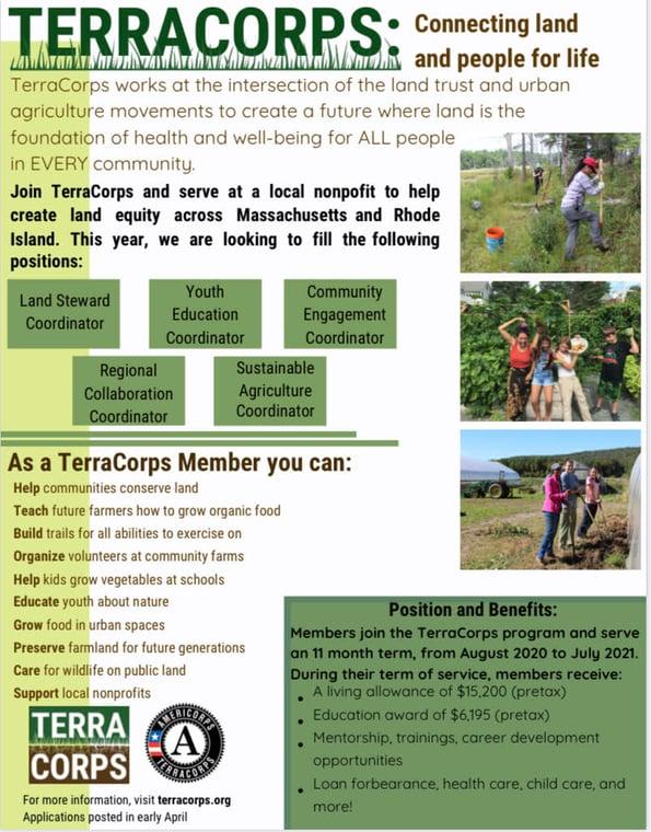 TerraCorps Flyer